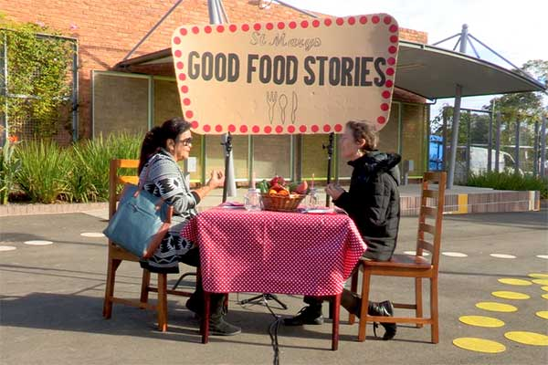Leigh Bramall and Peta Khan - Good food stories