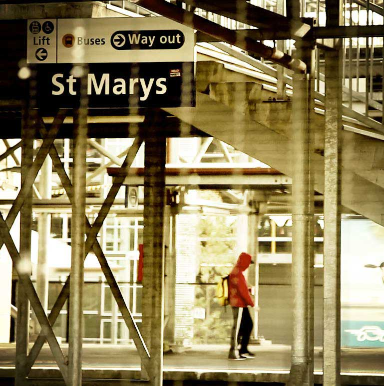 St Marys Train Station