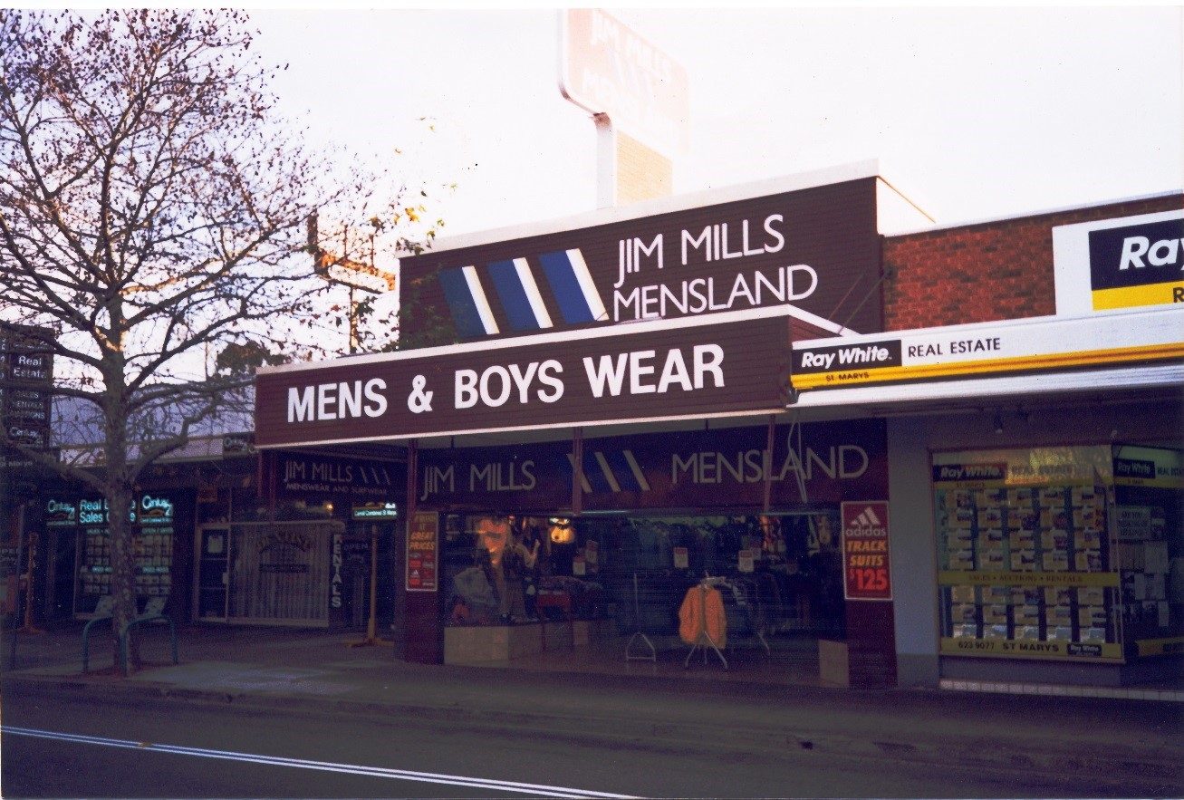Jim Mills Menswear Shop 2000